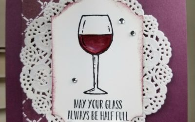 Fabulous Friday – Half Full Wine Card