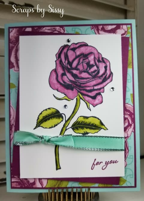 Fabulous Friday – Graceful Garden and Stampin' Blends Markers