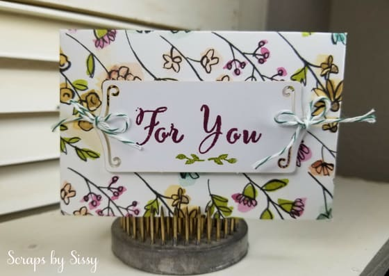 Fabulous Friday – Share What You Love Gift Card Holder