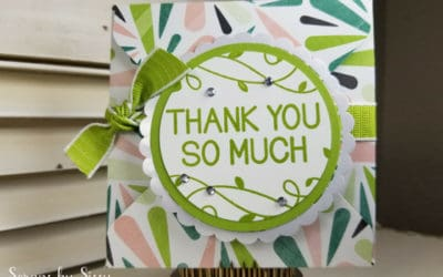 Fabulous Friday – Tropical Gift Card Holder