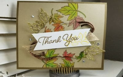 Wishing for Fall – Cased Blended Seasons Card