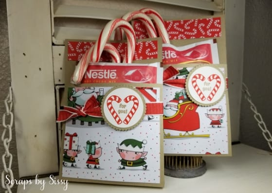 Fabulous Friday – Candy Cane Season Cocoa Holder