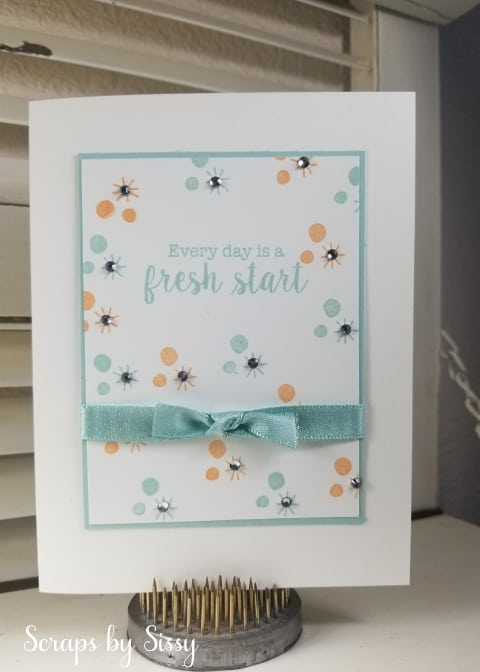 Every Day is a Fresh Start – Paper Pumpkin Alternate Card