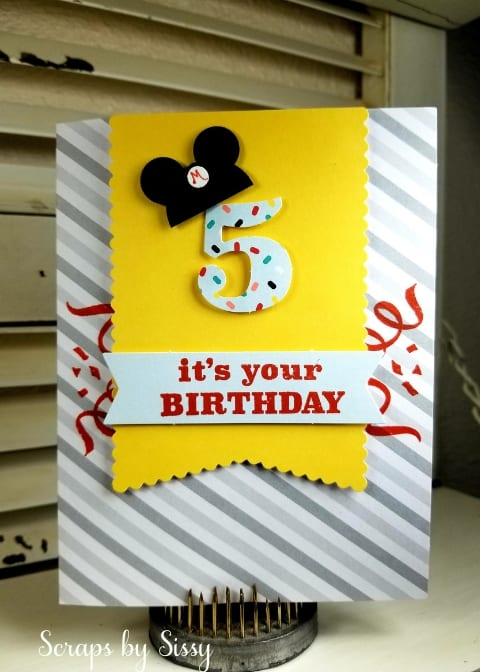 March Paper Pumpkin Alternates featuring Mickey Mouse