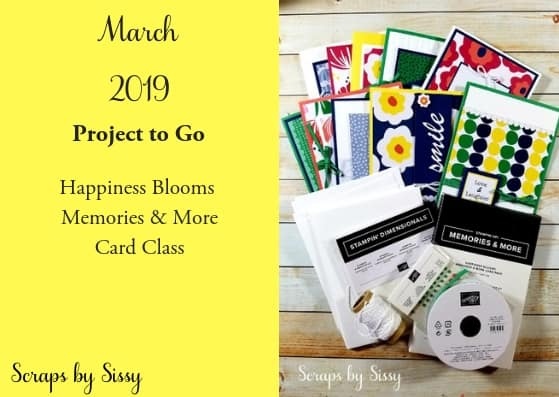 March Project to Go is Available!