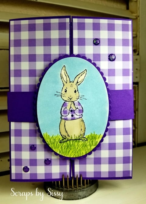 Fable Friends Gate Fold Card
