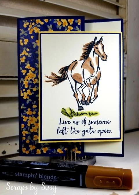 Let It Ride – Fun Fold Card