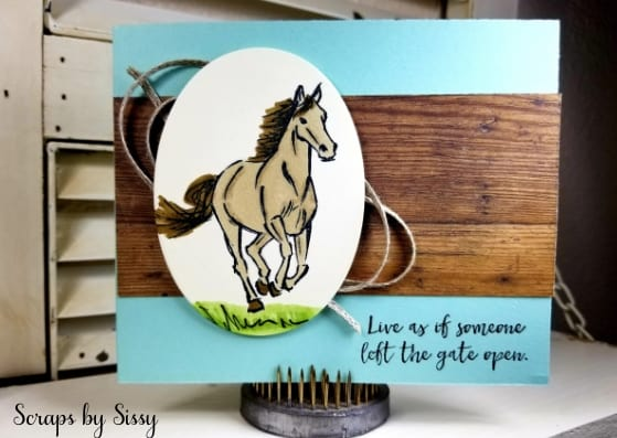 Product of the Week – Let It Ride Stamp Set