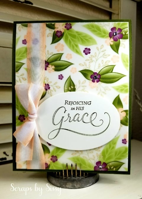 His Grace Stamp Set – New Product of the Week