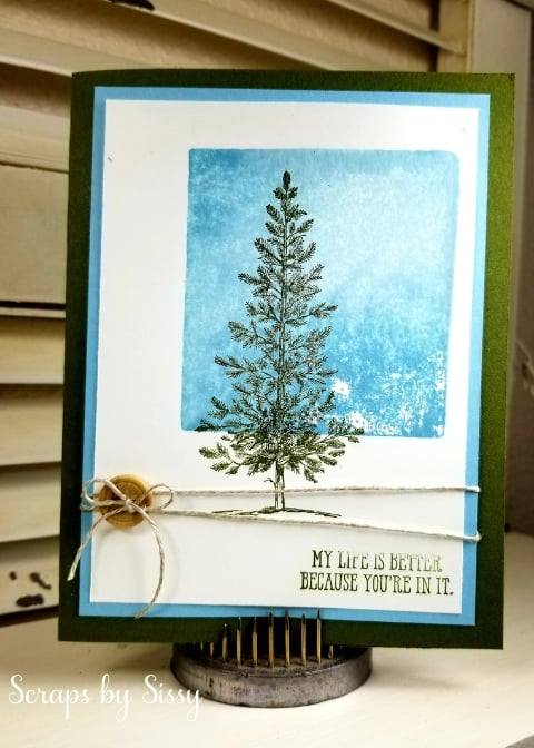 Lovely As A Tree – Block Stamping